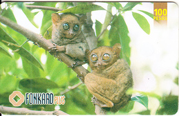 PHILIPPINES(chip) - Monkeys, Exp.date 30/09/01, Used - Filippijnen