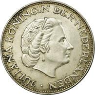 Monnaie, Pays-Bas, Juliana, 2-1/2 Gulden, 1961, TTB, Argent, KM:185 - 1948-1980 : Juliana