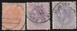 ESPANA  .      Yvert   193/195        .       O       .         Cancelled      .    /   .  Oblitéré - Usati