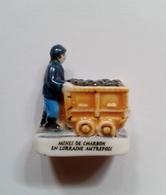 Fève Le Mineur - Mines De Charbon En Lorraine Autrefois-personnage Métier - Personnages