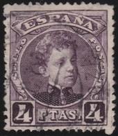 ESPANA  .      Yvert   224        .       O       .         Cancelled      .    /   .  Oblitéré - 1889-1931 Royaume: Alphonse XIII