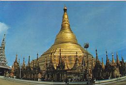 CPA RANGOON (Myanmar Burma) Shwedagon Pagoda BEAUX TIMBRES - Myanmar (Burma)