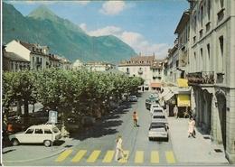 MARTIGNY (SUISSE) - VALAIS (La Place Centrale) - VS Valais