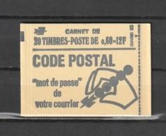 FRANCE - CARNET  - 1974 - Y&T : 1815-C1 - NEUF** - VOIR DESCRIPTIF - 2 SCANS (RECTO/VERSO) - Usage Courant