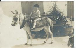 CARTE PHOTO  1927     ( LA COTINIÈRE ) - Kinderen