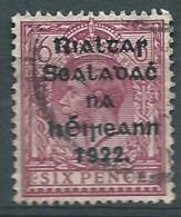 IRLANDE       Yvert  N°   159 B  Oblitéré   -  Bce  20327 - 1922 Provisional Government