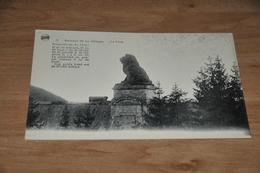 9804-    BARRAGE DE LA GILEPPE, LE LION - Gileppe (Barrage)