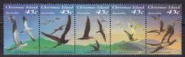 Christmas Island, 1993, 379/83 , Seevögel. MNH ** - Christmas Island