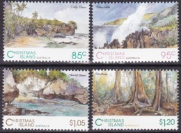 Christmas Island, 1993, 384/87, Landschaften. MNH ** - Christmas Island