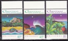 Christmas Island, 1993, 388/90, Weihnachten. MNH ** - Christmas Island