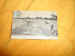 CARTE POSTALE ANCIENNE CIRCULEE DE 1905../ PORNICHET.- LA PLAGE...CACHET + TIMBRE - Pornichet