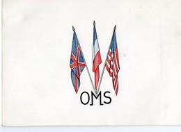 Carte De Voeux Avec Entête De L'OMS 1954  (PPP18393) - Vieux Papiers