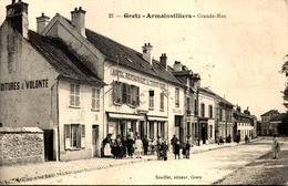 [77] Seine Et Marne > Gretz Armainvilliers GRANDE RUE  /  RARE  TBE - Gretz Armainvilliers