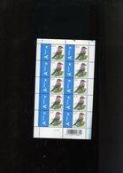 Belgie Buzin Vogels Birds Nr 3750 0.15€ CREME PAPIER Gekleurde Driehoekjes Bovenaan RR MNH Plaatnummer 2 - 1985-.. Vogels (Buzin)