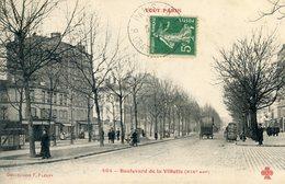 76  PARIS 19e AR   SERIE TOUT PARIS BD DE LA VILLETTE - Arrondissement: 19