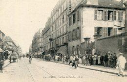 76  PARIS 19e AR   LA RUE DE FLANDRE - Arrondissement: 19
