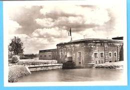 Militaria-Guerre 1940-45-Fort Van/de Breendonk-Algemaeen Gezicht-Ingang-Vue Générale-Entrée-Rare-photo Véritable - Weltkrieg 1939-45