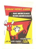Buvard SEB SUPER-COCOTTE SEB Et Si Vite Cuits! - Electricidad & Gas