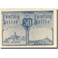 Billet, Autriche, Warlberg, 50 Heller, Eglise 1920-12-31, SPL Mehl:FS 1142b - Autriche