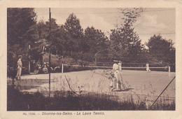 Cpa-01-divonne Les Bains--animée -le Tennis-edi Francon N°1036 - Divonne Les Bains