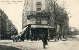 76  PARIS 19e AR   RUES DE BELLEVILLE ET BOLIVAR - Arrondissement: 19