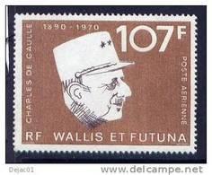 Thème Général De Gaulle - Wallis & Futuna - Yvert PA 48 - NSG - De Gaulle (General)