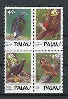 Palau 1989. Yvert 229-32 ** MNH. - Palau