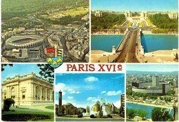Paris - XVIe - Stade Parc Des Princes - Hippodrome - Bois De Boulogne - Pont D'iéna - Musée Galliéra - Porte De St Cloud - District 16
