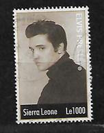 SIERRA LEONE COMMEMORATING ELVIS PRESLEY - Sierra Leone (1961-...)