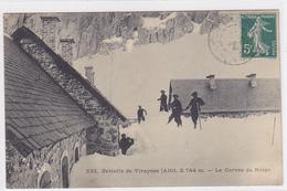 Cpa-04-viraysse-batterie De...-animée-corvée De Neige-edi... N°232 - France