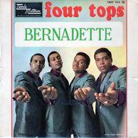 Disque - Four Tops - Bernadette - Tamla Motowm TMEF 545 M - 1967 - - Soul - R&B