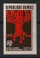 Mali - 1977 - N°Yv. 281 - Telecoms - Non Dentelé / Imperf. - Neuf Luxe ** / MNH / Postfrisch - Mali (1959-...)