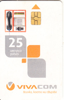 BULGARIA - Cardphone, Viva Com Telecard 25 Units, Used - Bulgaria
