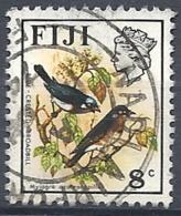 Fiji, 1975 Blue-crested Broadbills, 8c Multi # S.G. 511 - Michel 336 - Scott 311b  USED - Fiji (1970-...)