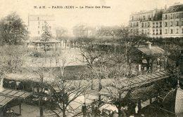 76  PARIS 19e AR   LA PLACE DES FETES - Arrondissement: 19