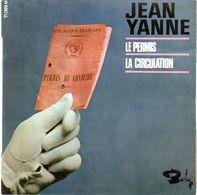 Disque De Jean Yanne - Le Permis - Barclay 71069 M - 1967 - - Humor, Cabaret