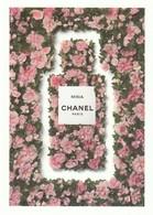 """Dans Les Champs De CHANEL """"MISIA"""" Grande Carte 17/12 Cm R/V        1 Seul Exemplaire - Perfume Cards"""