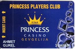 F.Y.R.O.M. - Princess Casino, Member Card, Used - Casinokarten