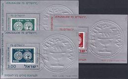 ISRAEL 1974 Mi-Nr. Block 11/13 V O Used - Aus Abo - Blocks & Sheetlets