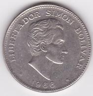 Colombie. 50 Centavos 1966 Simon Bolivar. Cupronickel .KM# 217 - Colombia