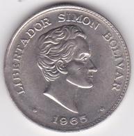 Colombie. 50 Centavos 1965 Simon Bolivar. Cupronickel .KM# 217 - Colombia