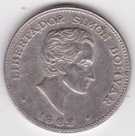 Colombie. 50 Centavos 1962 Simon Bolivar. Cupronickel .KM# 217 - Colombia