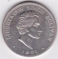 Colombie. 50 Centavos 1961 Simon Bolivar. Cupronickel .KM# 217 - Colombie