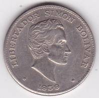 Colombie. 50 Centavos 1959 Simon Bolivar. Cupronickel .KM# 217 - Colombie