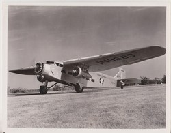FORD   TRI MOTOR  AMERICAN AIRLINES US MAIL SMITHSONIAN INSTITUTION AIR MUSEUM    ++ 25 * 20 CM DE HAVILLAND  AIRCRAFT - Aviación