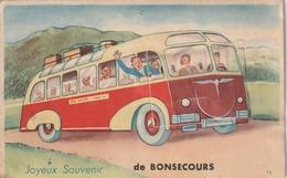 76 Bonsecours. Carte Systeme Au Bus - Bonsecours