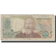 Billet, Italie, 2000 Lire, KM:103b, B - [ 2] 1946-… : Républic