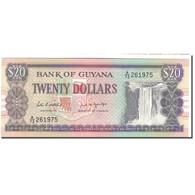 Billet, Guyana, 20 Dollars, KM:27, NEUF - Guyana
