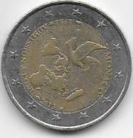 MONACO ..-- 2 Euros 2013 . 1993 Admission à L' ONU . A Circulé !! - Monaco