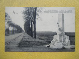 VELIZY VILLACOUBLAY. La Route De Versailles Et Le Monument Edouard Tarron. - Velizy